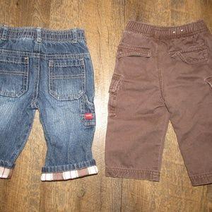 OshKosh B'gosh Bottoms - Oshkosh jeans and pants toddler boy size 9 motnhs